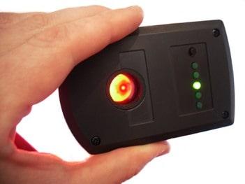Infrared spy camera scannerprofessional infrared scanner lens finder