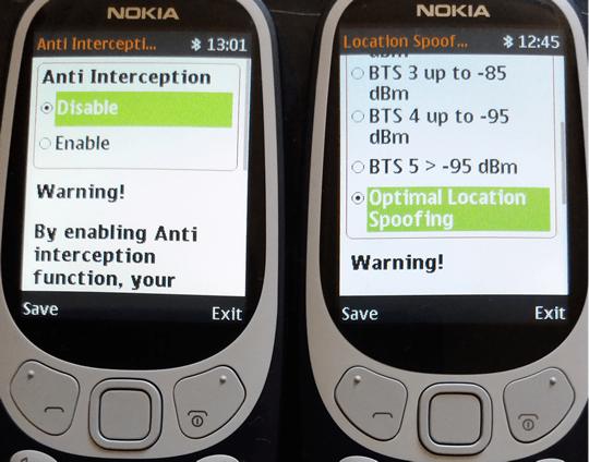 Nokia 3310 Anti Interception phone diplomatic communications