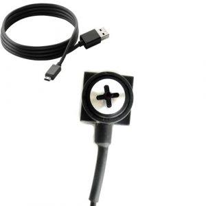 Covert spy camera screw head