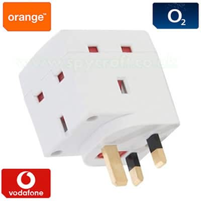 Power socket bugging device