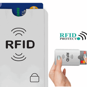 wireless debit card blocking envelope
