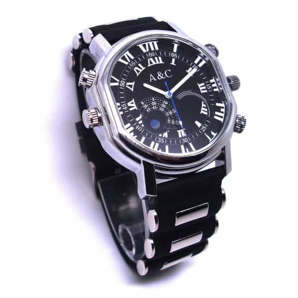 high definition spy camera watch with night vision