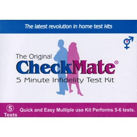 checkmate forensic infidelity test kit