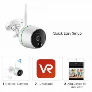 camera control application Wifi security camera
