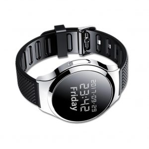 Audio spy watch black style