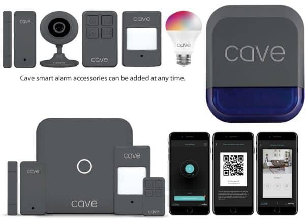 Cave smart alarm accessories