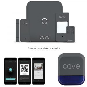 Cave intruder alarm starter kit
