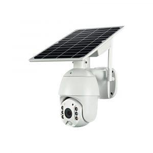 solar powered WIFI camera PTZ