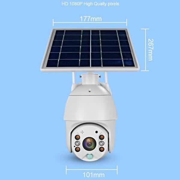 PTZ solar wifi camera specifications