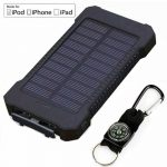 Solar power charger bank
