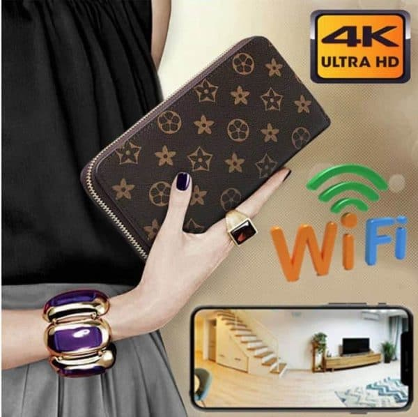 Ladys spy camera purse