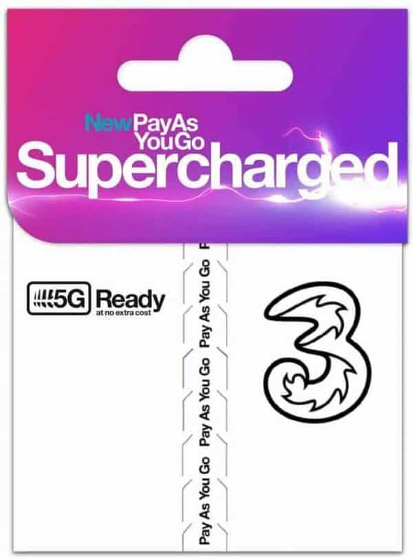 supercharged sim on THREE
