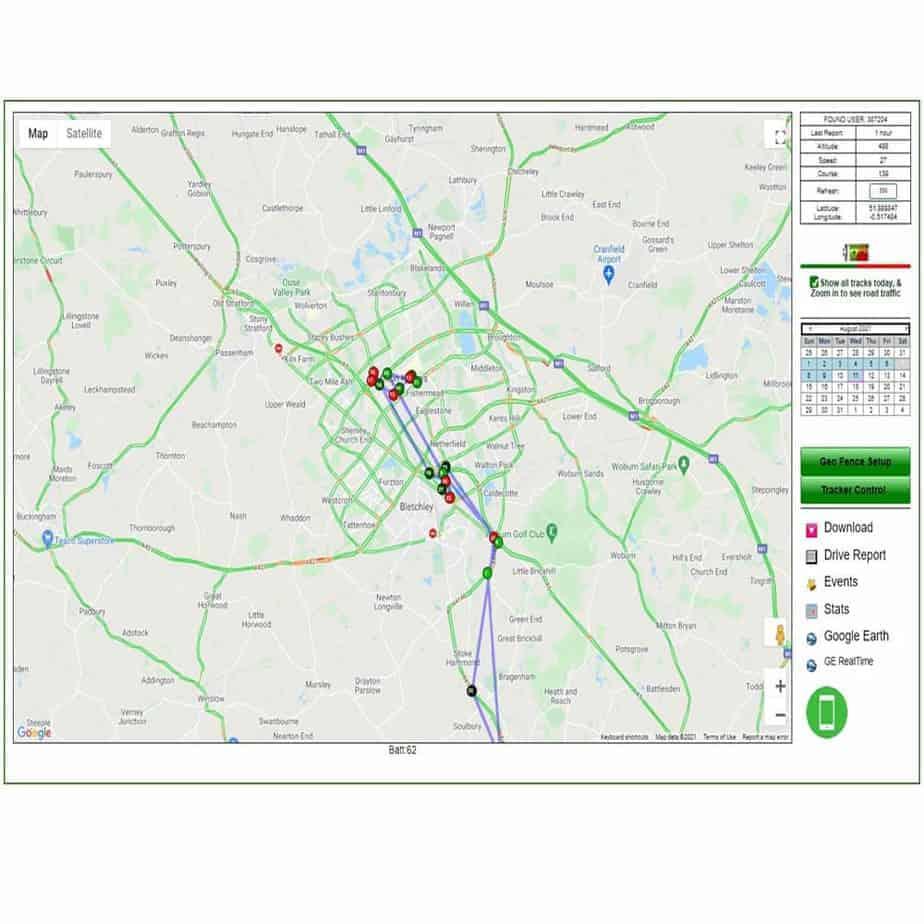 GPS desktop mapping